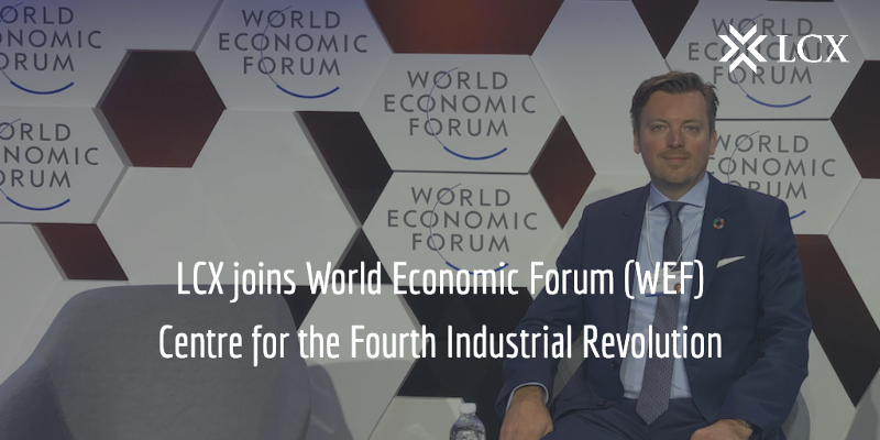 Monty C. M. Metzger, CEO at LCX, attending the World Economic Forum (WEF)